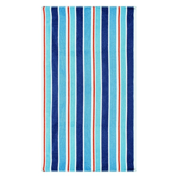 100% Cotton Beach Towel by Breakwater Bay